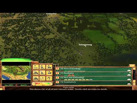 Railroad Tycoon 3 - 10 - The Orient Express (Gold Medal)