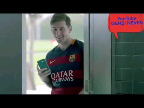 Messi Hoje eu vou jogar com Suárez e Neymar... 🎵🎵🎵Paródia🎵🎵🎵