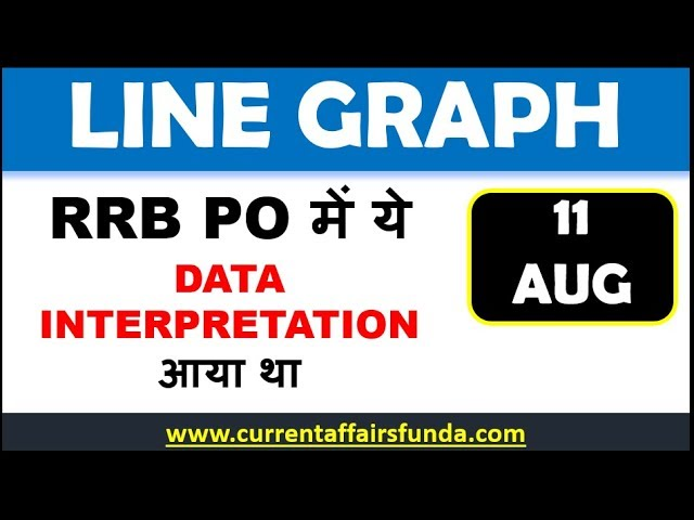 Line Graph memory Based asked in RRB PO