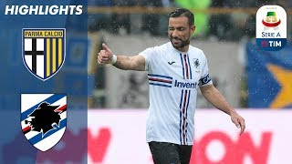 Parma 3-3 Sampdoria | Two Red Cards In Six Goal Thriller | Serie A
