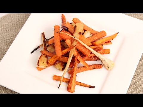 Honey & Thyme Roasted Carrots & Parsnips Recipe - Laura in the Kitchen Episode 852