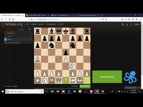 Building a Chess Opening Repertoire with Lichess Studies