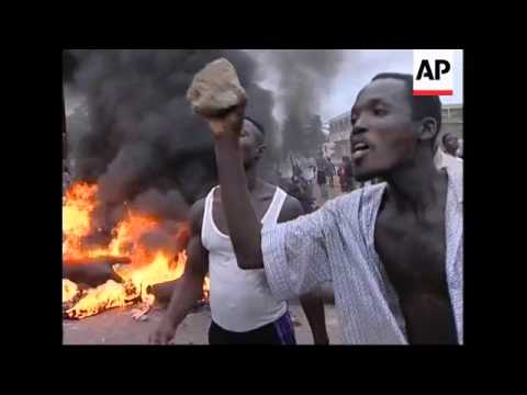 Riots in Lome following election