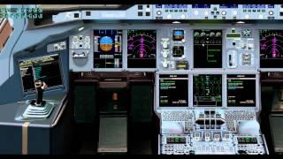 X-Plane10 A380 Engine start