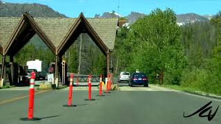 Leaving Yellowstone, Arriving in Cody - Great American Summer Road Trip 2.7 -   YouTube