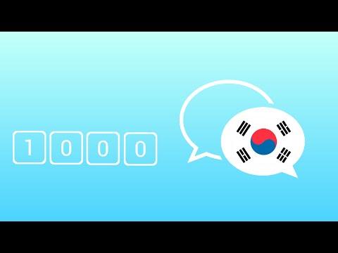 1000 câu tiếng Hàn giao tiếp hằng ngày thông dụng nhất - Learn Korean Phrase - Korean Conversation