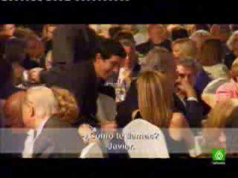 Cristina Premios Telva con reportero incógnito
