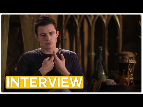 Hobbit Legolas - Orlando Bloom Interview (2013)