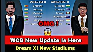 🔥WCB NEW DREAM XI & NEW STADIUMS UPDATE IS HERE !! FULL REVIEW !! ANDROID/DOWNLOAD