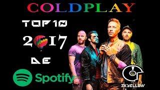 Baixar Coldplay Top 10 De SPOTIFY