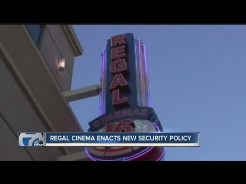 Regal Cinema Enacts New Security Policy