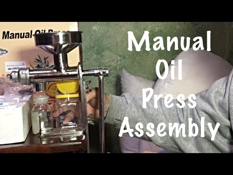 Manual Oil Press Assembly