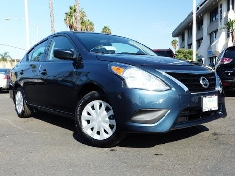 2017 Nissan Versa S 5 Sd Manual Transmission