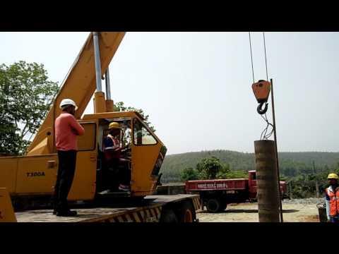Mobile crane training on Computerized crane / Operating / Driving / Maintenance