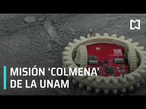 Misión 'Colmena' de la UNAM para enviar robots a la Luna - Fractal