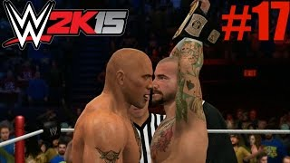 WWE 2K15 2K Showcase Walkthrough - WWE 2K15 2K Showcase - The Rock vs CM Punk Royal Rumble 2013 (Hustle, Loyalty, Disrespect Part 17)