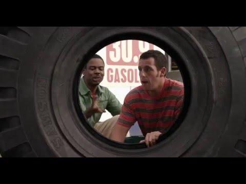 Grown ups 2 - Funny scene (Higgins inside the tyre)