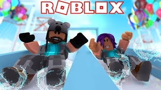 I DIED!?!? | Robloxian Waterpark | ROBLOX w/Thinknoodles