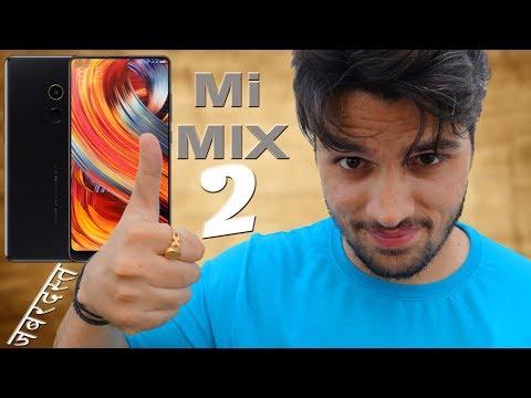 Xiaomi Mi MIX 2 : Bezel-less Beauty Coming to India !!