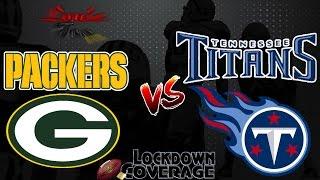 NFL Football 2016 Recap: Packers vs. Titans (Week 10) (Lockdown Coverage)  #LouieTeeLive