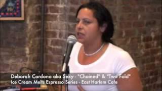 "Ice Cream Melts  Espresso Series Deborah Cardona author of  ""Chained"" - East Harlem Cafe Thumbnail"