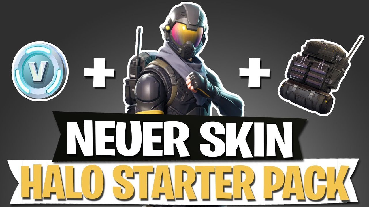 NEUER SKIN | HALO STARTER PACK MASTER CHIEF | FORTNITE ...