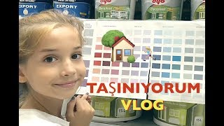 Taşınma Vlog Ecrin Su Çoban Yeni Ev.