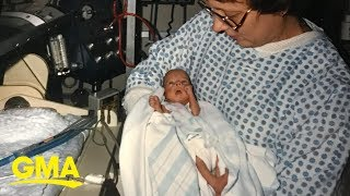 Woman born 1 pound works in NICU where she stayed as a micro preemie | GMA Digital