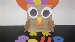 How make a colorful turkey - EP