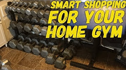 How To Buy Cheap Dumbbells For Your Home Gym - Smart Shopping For Your Home Gym - Budget Home Gym