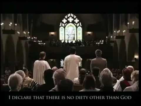 Azan in the Church!!