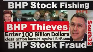 South32 Suing BHP Billiton 100 Billion Dollars stock fraud Join the Class Action Law suit Now