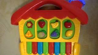 Видео обзор детская игрушка - Пианино для детей (kidtoy.in.ua)(Детские музыкальные инструменты: https://vk.com/album-47667519_169903801 Интернет-магазин детских игрушек и хозтоваров ..., 2014-08-21T15:08:05.000Z)
