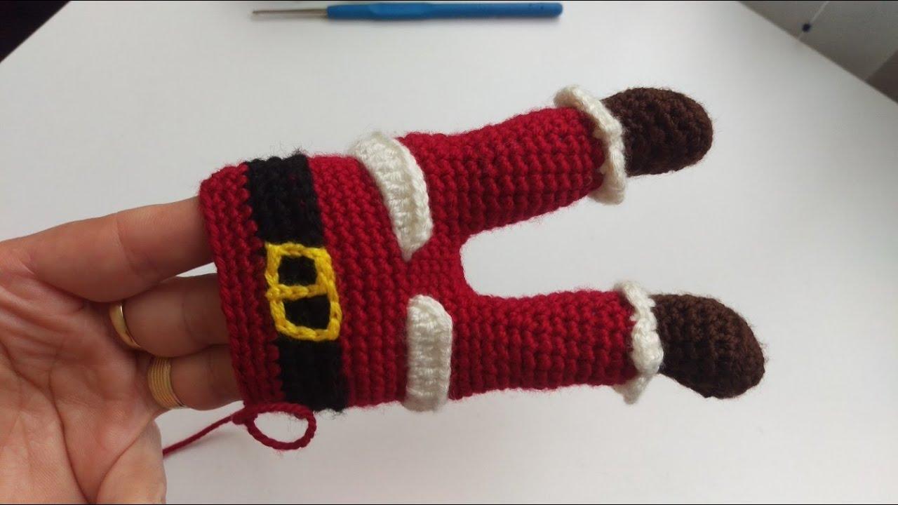 3.Noel Baba Amiguru Yapımı Crochet Santa Claus Amigurumi Tutorial ... | 720x1280