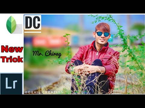 Perfect cinematic look |New snapseed retouching 2018 | New lightroom editing | Devil Creation |