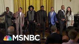 'Hamilton' Cast Performs Hit Musical At White House | MSNBC
