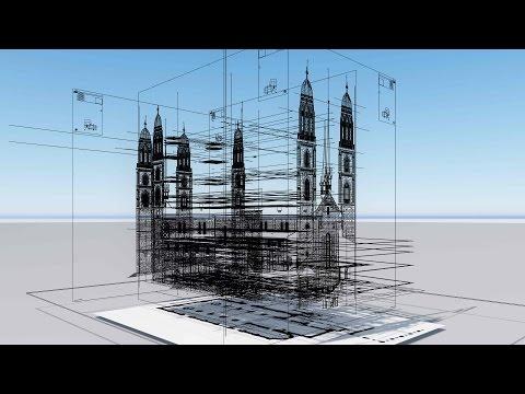 3D-Vermessung vom Grossmünster in Zürich