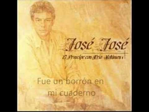 Jose Jose  Amnesia letra
