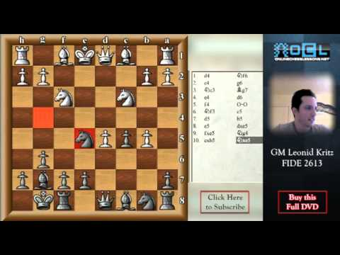 King's Indian Defense - Master it!  GM Leonid Kritz (EMPIRE CHESS)
