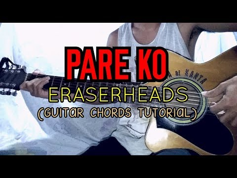 PARE KO - Eraserheads ( Easy Guitar Tutorial )