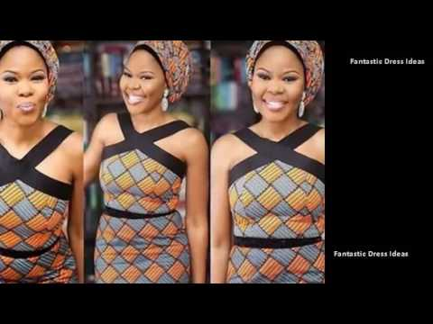Best Collection of Aso EBI Ankara Dress Styles - African Trendy Samples