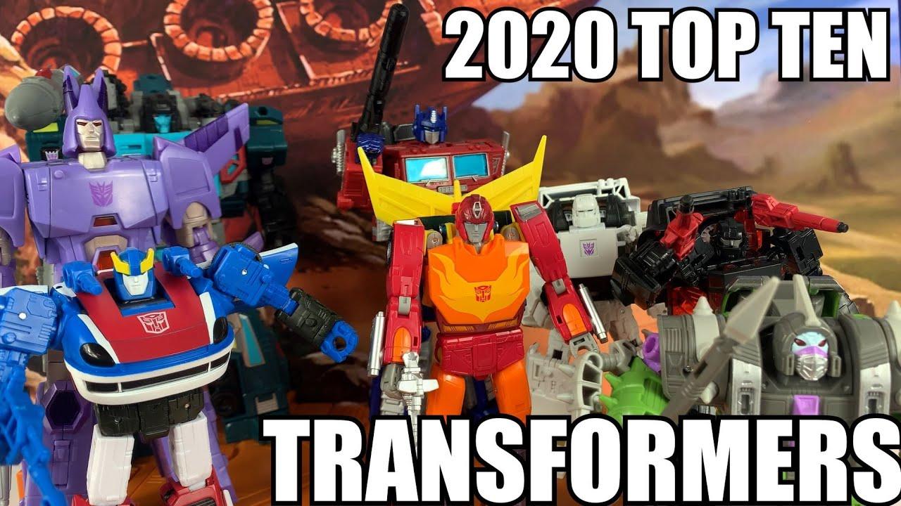 Top Ten Transformers of 2020 By Enewtabie