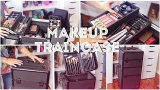 ♡My Freelance Makeup Train Case♡