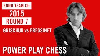 European Team Championship 2015 Reykjavik Round 7 Grischuk vs Fressinet