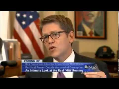 Jay Carney This Week Abc Interview