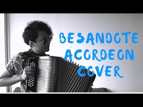 Besándote - Piso 21 Mulett Acordeón Cover