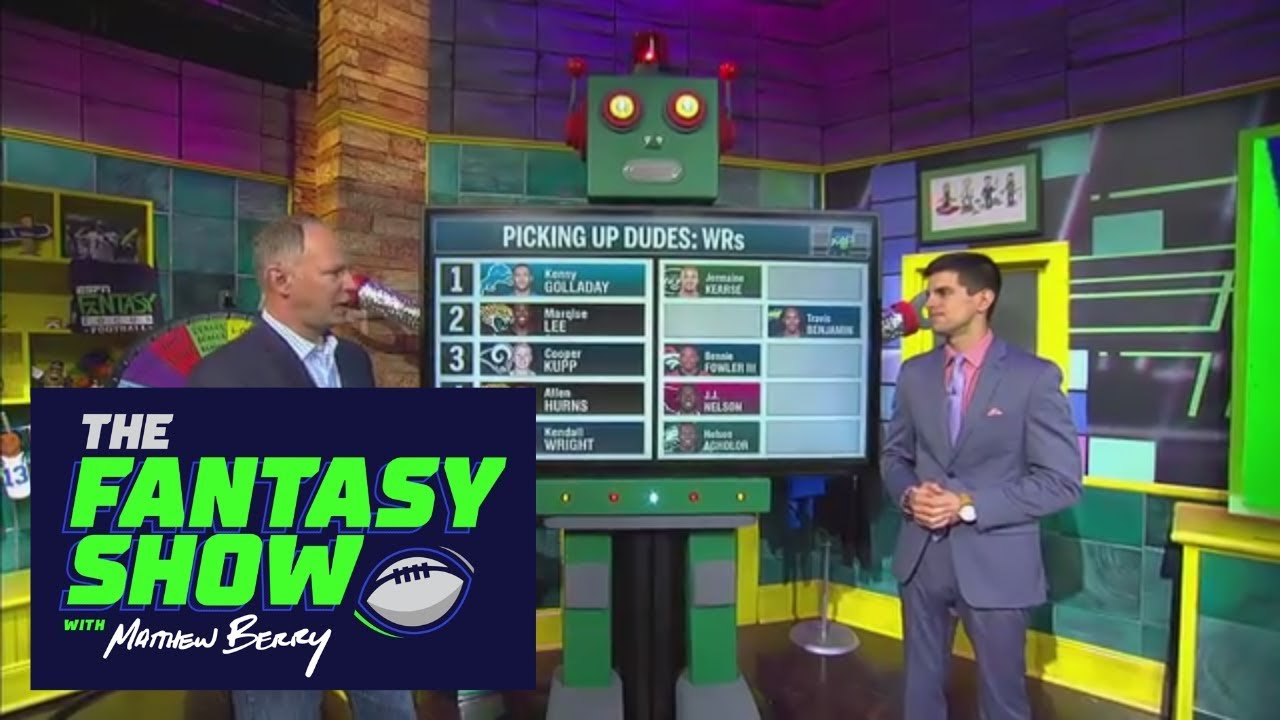 Week 2 waiver wire pick-ups with Field Yates | The Fantasy Show with ...