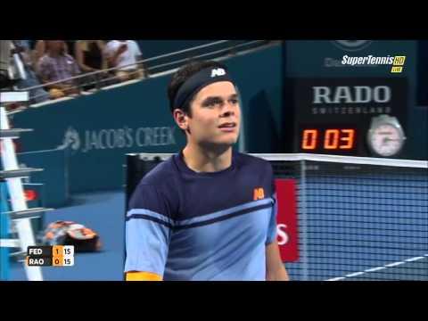 Brisbane 2016 Final Federer Vs Raonic 720 HD