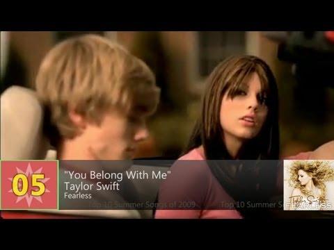 Billboard Hot 100 - Top 10 Summer Songs Of 2009