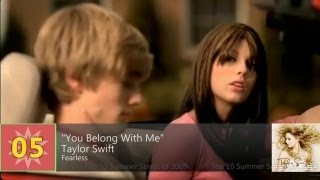 Billboard Hot 100 - Top 10 Summer Songs Of 2009